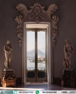 Architrave Mewah Pintu Rumah Klasik Ukiran Eropa