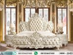 Set Tempat Tidur Putih Klasik Eropa AI-408