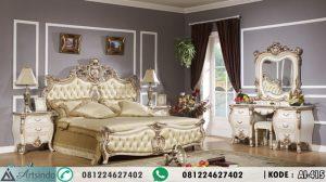 Harga Set Tempat Tidur Mewah Klasik Ukiran AI-415