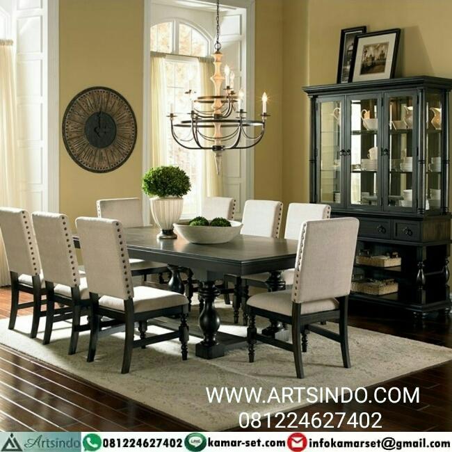 Meja makan Minimalis Modern Furniture Jepara