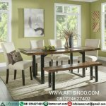 kursi meja makan minimalis modern