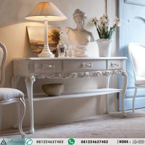 Meja Konsol Mewah Klasik Luxurious Carved Italian