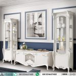Set Bufet Tv Display Klasik Ornate Italian