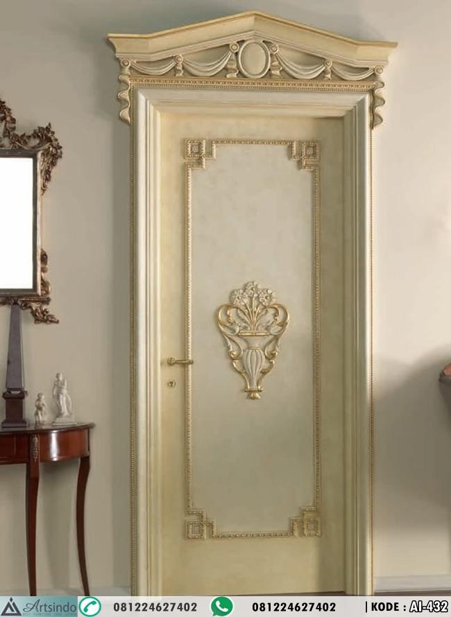 Pintu Kamar Klasik Elegan AI-432