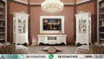Meja TV Mewah Klasik With Lemari Hias