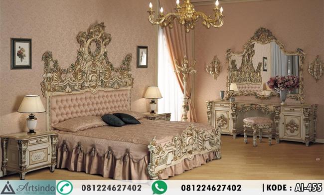 Set Tempat Tidur Ukir Archadia AI-455