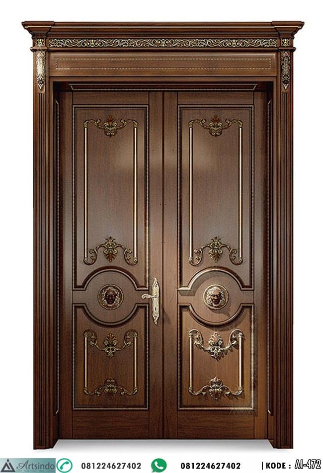 Pintu Jati Model Klasik