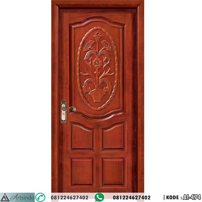 Pintu Kamar Model Panil Ukir
