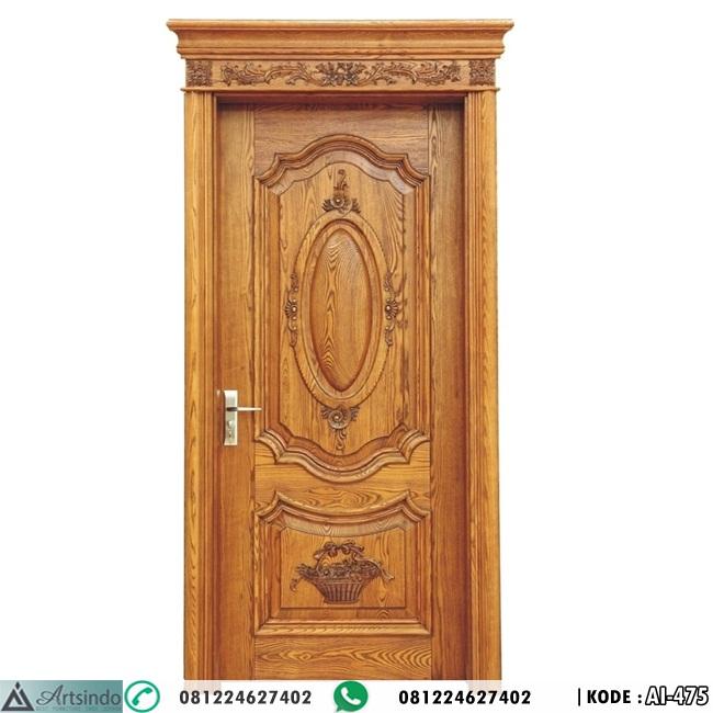 Pintu Kamar Ukir Kayu Jati