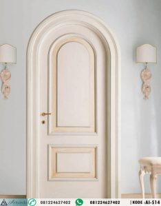 Pintu Kamar Klasik Model Lengkung AI-514