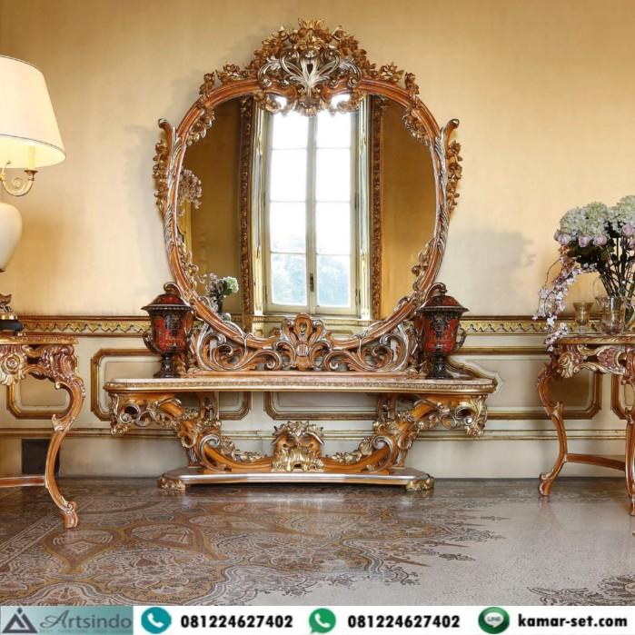 Meja Console Mewah Klasik Eropa Casa Rampoldi