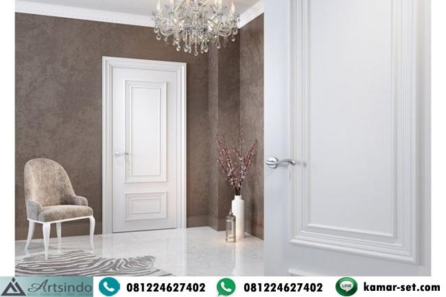 Pintu Kamar Warna Putih Profilan Mewah